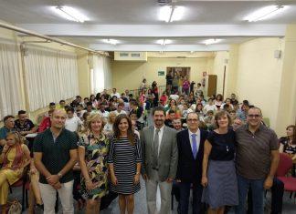 Inauguración oficial del curso para alumnos de Secundaria y FP en el IES Fuente de la Peña.