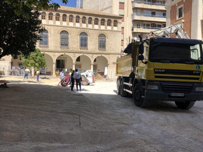 Situación de la plaza Deán Mazas.