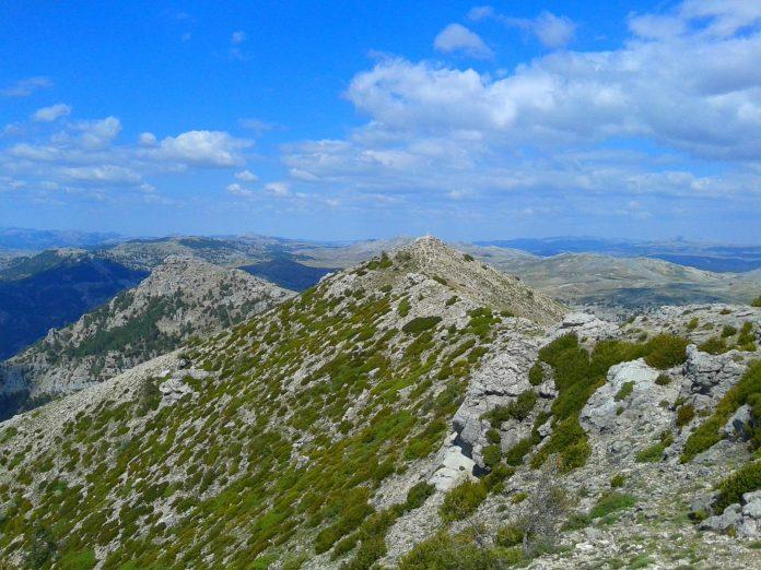 Pico Banderillas, el más alto de la Sierra de Segura.
