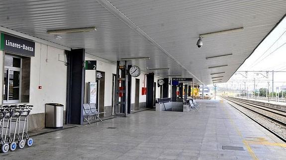 Estación de Linares-Baeza. Foto: Ayuntamiento de Linares