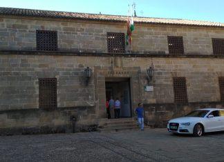 Juzgado donde declarará el presunto asesino de Sara María de los Ángeles. FOTO: HoraJaén
