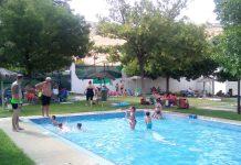 Piscina de El Tomillo durante este verano.
