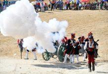 Recreación de la Batalla de Bailén.