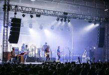 Sidecars en su actuación anoche en Torreperogil: FOTO: Rosillo Soluciones Audiovisuales