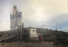 Pintura que obtuvo el primer premio de pintura Emilio Ollero en 2018.