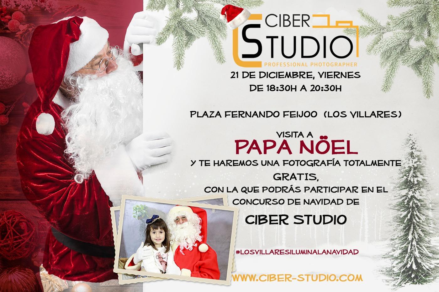 Imagenes Gratis De Papa Noel.Papa Noel Visita Los Villares Para Regalar Fotografias De