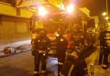 Bomberos de Jaén en el incendio de una vivienda. FOTO: Archivo.