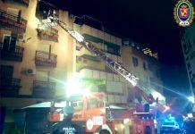 Imagen de archivo de los bomberos de Jaén.