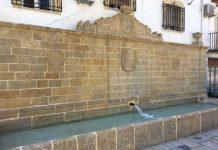 Fuente del Moro en Baeza.