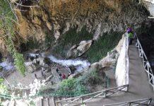 Cueva del Agua de Tíscar, en Quesada.