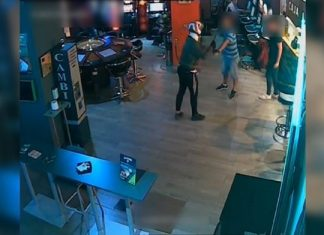 Imagen de archivo de un atraco a un salón de juego de Bailén.
