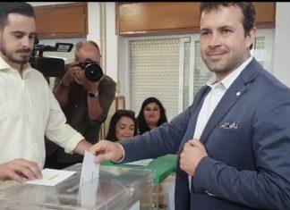 Julio Millán, candidato a la alcaldía de Jaén por el PSOE.
