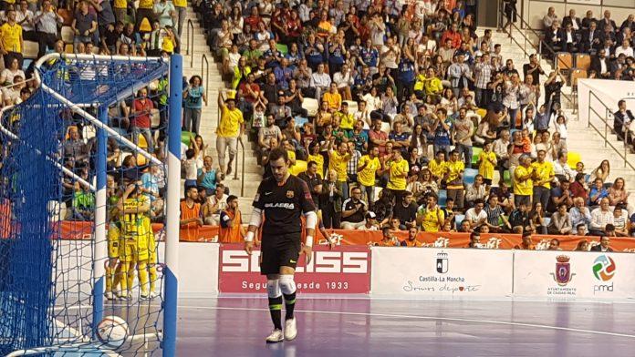 Golazo de Campoy que no pudo servir para ganar el título.