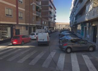 Calle Granada donde se ha encontrado el cadáver.