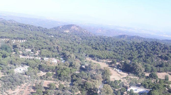 Imagen de la zona. FOTO: INFOCA