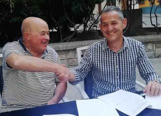 Los candidatos de PSOE y Cs.