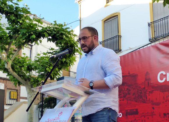 Pablo Ruiz 1er teniente de Alcaldía de Bedmar