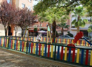 Parque situado entre las calles Virgen del Pilar y Genil de Úbeda.