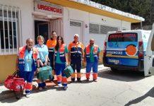 Imagen del equipo de urgencias.