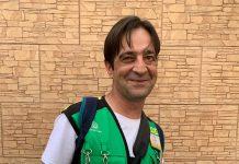 Francisco Javier Moral, vendedor de la ONCE que ha repartido 100.000 euros el pasado viernes. FOTO: Peragón