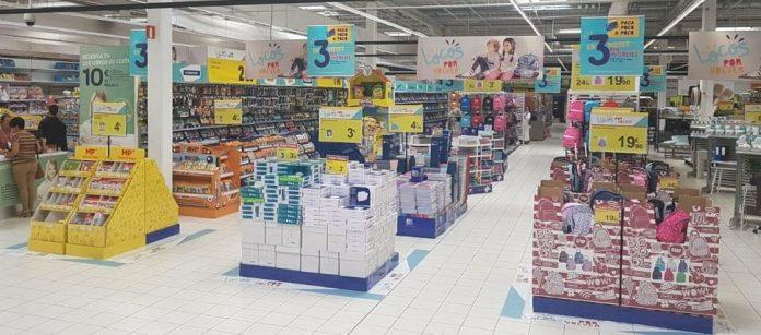 Vuelta al cole en Carrefour