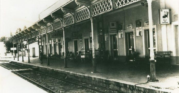 Antigua estación de tren de Jaén.