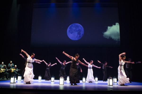 Ballet Flamenco de Andalucía. FOTO: JUNTA DE ANDALUCÍA