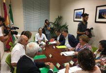 Reunión de las tres administraciones para avanzar en el proyecto de la Ciudad Sanitaria.