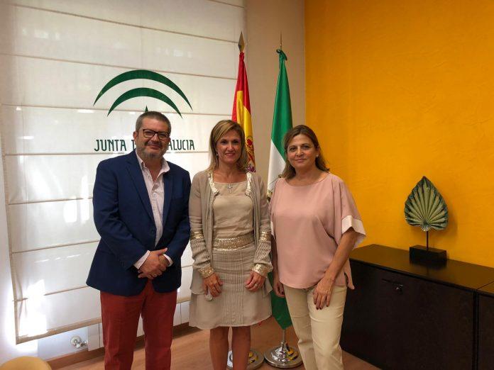 Trinidad Rus, Pedro Castro y Sandra Moraleda.