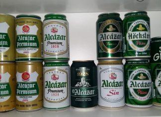 Imagen de las latas de cerveza El Alcázar. FOTO: @finidichi