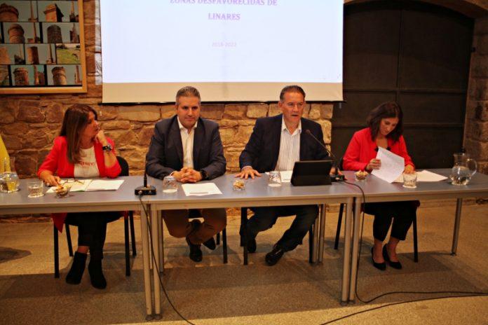 Presentación del nuevo Plan local de intervención en zonas desfavorecidas de Linares.