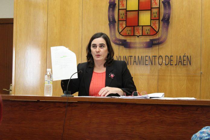 La concejal del Ayuntamiento de Jaén.