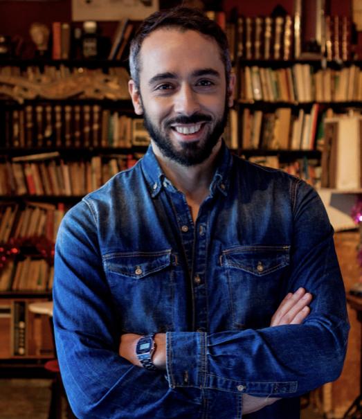 El escritor, Paco Gámez.