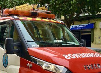 Imagen de archivo de una actuación de los servicios contraincendios.