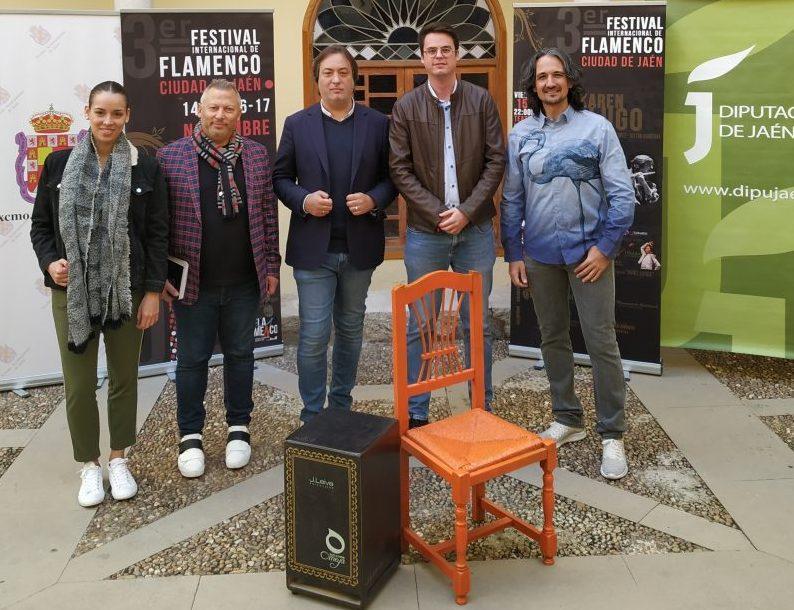 Karen Lugo, Sergio de Lope y Pastora Galván en el Festival Internacional de Flamenco de Jaén - HoraJaén