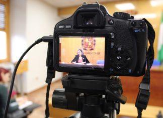 Orozco durante la rueda de prensa.