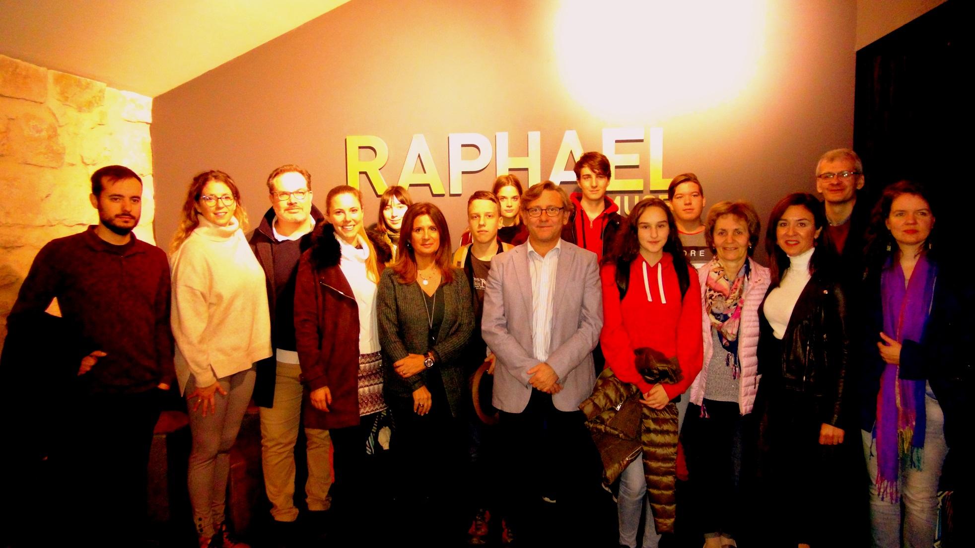 El Conservatorio de Linares recibe treinta participantes extranjeros de las becas Erasmus - HoraJaén