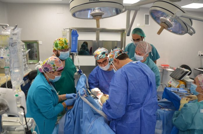 Operación quirúrgica de la Jornada HBO.