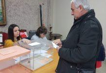 Voto no válido al depositarse en otra urna. FOTO: Hora Jaén