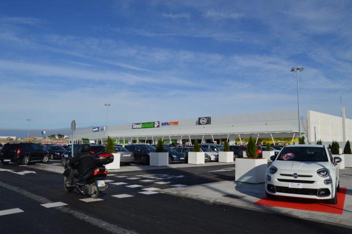 Imagen del Jaén Plaza ya en funcionamiento.
