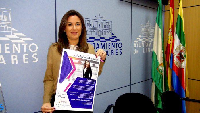 Noelia Justicia, concejal de Hacienda del ayuntamiento de Linares.