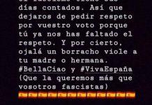 Declaración del concejal del PSOE.