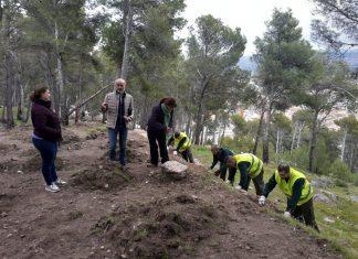 Recuperación sendero islámico de Jaén.