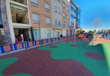 Nuevas instalaciones en el parque de la Avenida Ciudad de Linares de Úbeda,