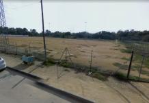 Campo de fútbol de Puente Tablas.
