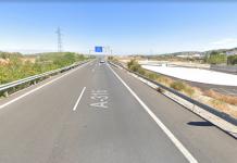 Autovía A-316 a su paso por Torredelcampo.