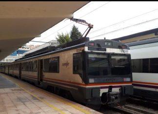 Tren que ha realizado el trayecto Jaén-Madrid.