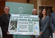 La Cueva del Agua de Tíscar será imagen del décimo de la Lotería Nacional del 18 de enero.