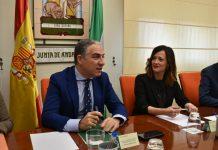 El consejo de Presidencia, Elias Bendodo, en Jaén.