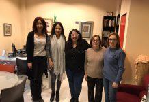 Reunión con la asociación Creciendo unidas de Alcalá la Real.